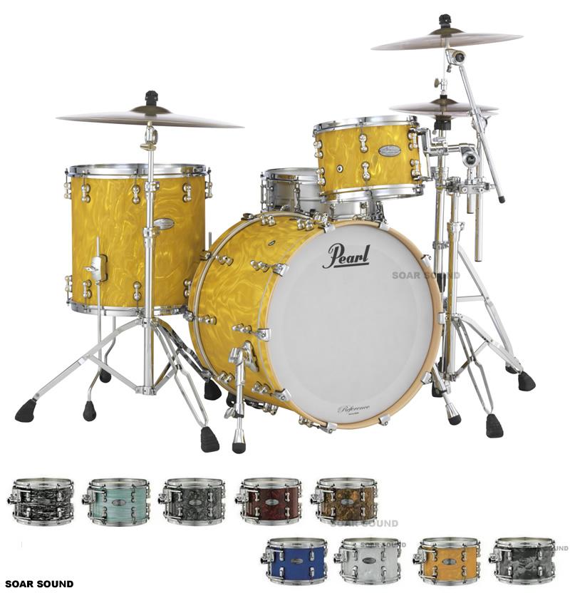 Pearl パール Masters Maple Reserve MRS Assembled in Japan シェル 3点 セット 6プライ メイプル アッセンブルド イン ジャパン ドラムセット シェルキット