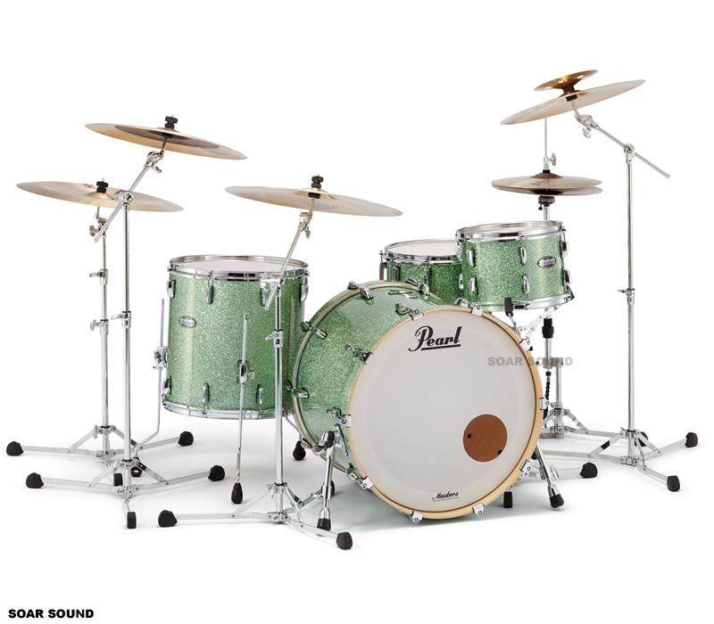 【受注製作】 Pearl パール MASTERS MAPLE COMPLETE MCT ドラムセット シェル3点セット シェルキット 6プライ メイプル ウッドシェル