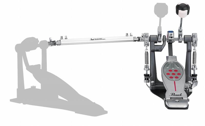 Pearl パール ツインペダル用 キックペダル 本体 レッドライン BELT DRIVE P-2052B ドラムペダル ベルトドライブ