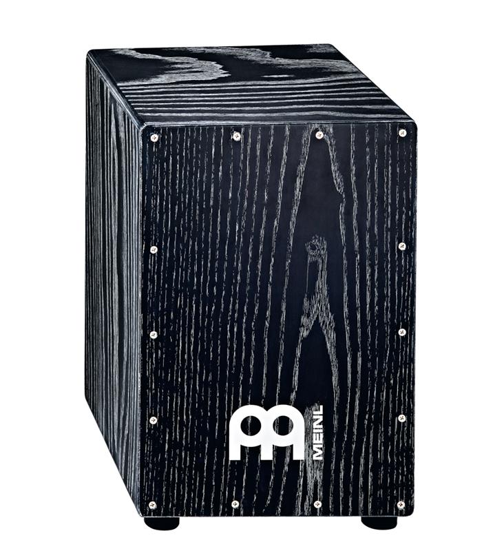 MEINL マイネル カホン アメリカンホワイトアッシュ MCAJ100VBK American White Ash Vintage Black ヴィンテージブラック HEADLINER DESIGNER SERIES CAJONS