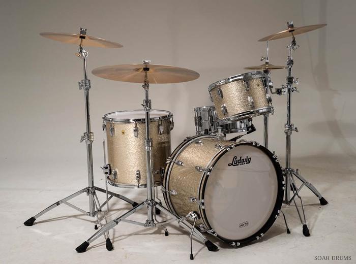 Ludwig ラディック LEGACY MAHOGANY SERIES / レガシーマホガニーシリーズ Super Classic 22 ドラムセット 22