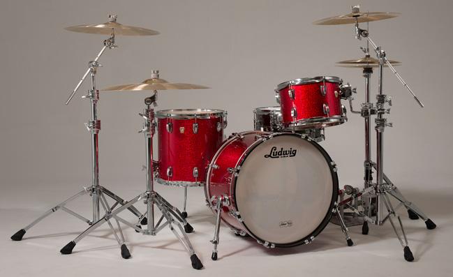 【納期短め!】Ludwig ラディック ドラムセット クラシックメイプルシリーズ シェルパック DOWN BEAT-20 L84023AX
