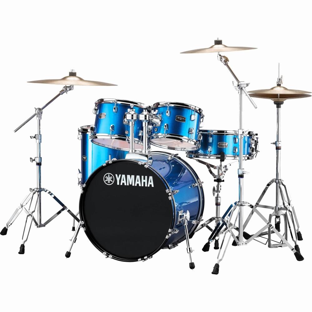 YAMAHA ヤマハ ドラムセット ドラム RYDEEN ライディーン YAMAHA ファインブルー ヤマハ 初心者 入門用 におすすめ! RDP2F5STD スタンダードセット ドラムセット 初心者用 スタンド シンバル付属!, エルアミーゴ:db4e7814 --- officewill.xsrv.jp