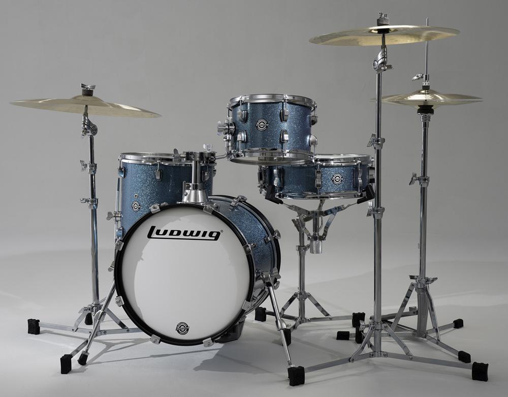 送料無料!【選べるカラー!】 Ludwig ラディック 小口径ドラムセット BREAKBEATS ブレイクビーツ LC179X