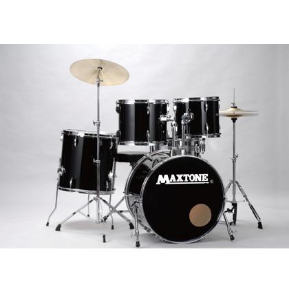 【送料無料!】ドラムセット MAXTONE MX-116 JET BLACK ジェットブラック or WHITE ホワイト 入門用や初心者用、ストリートライブにも!