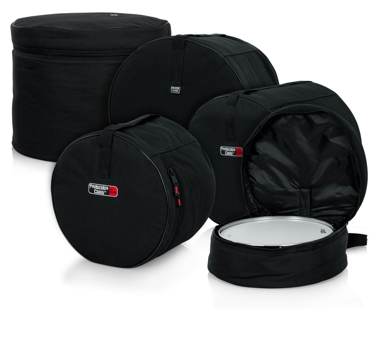 ドラムセット用バッグセット 5ピース・フュージョンセット ドラムバッグ ドラムケース ドラムセット用ケース GP-FUSION-100 バスドラム タム フロアタム スネア