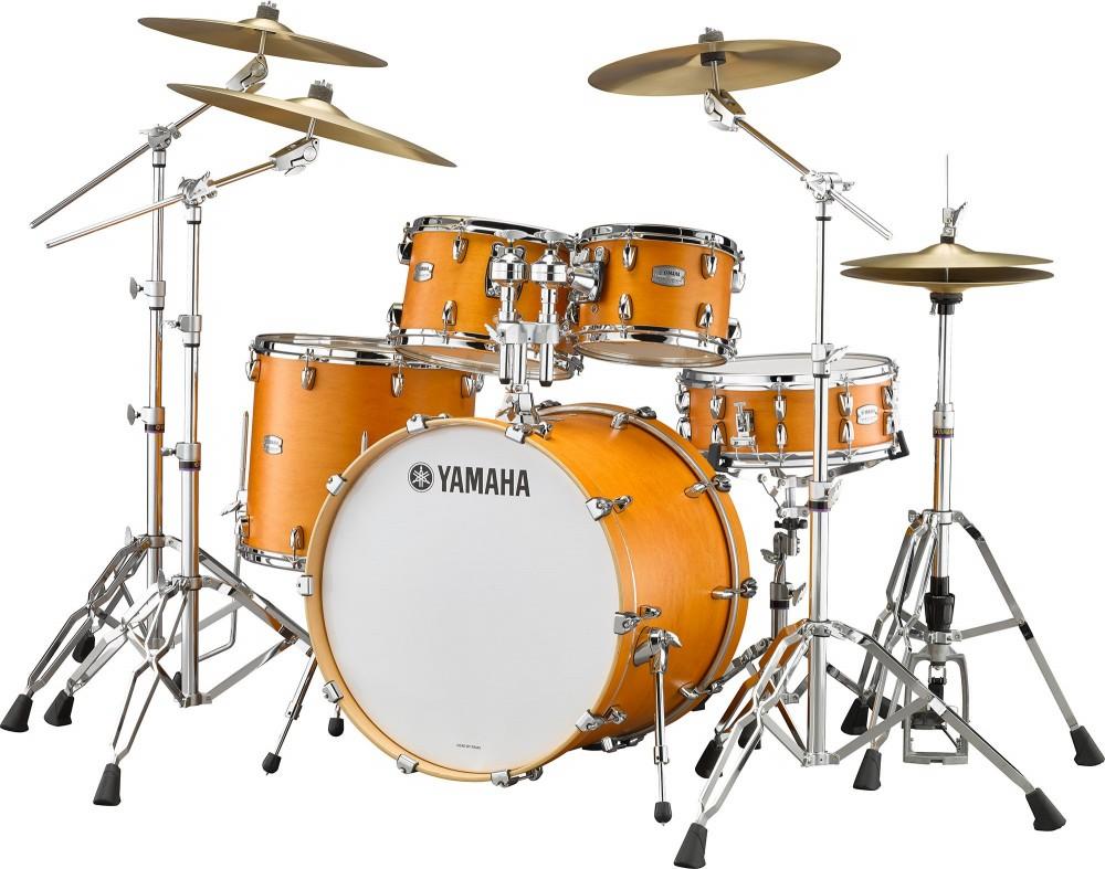 YAMAHA ヤマハ TOUR CUSTOM キャラメルサテン(CRS) ドラムセット ドラム TMP2F4 シェルセット 4点セット