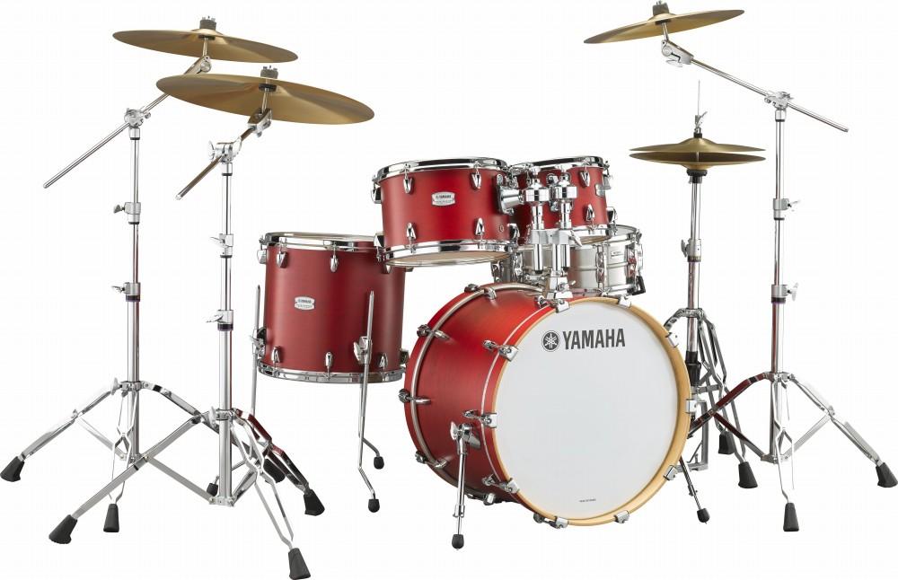 YAMAHA ヤマハ TOUR CUSTOM キャンディーアップルサテン(CAS) ドラムセット ドラム TMP2F4 シェルセット 4点セット
