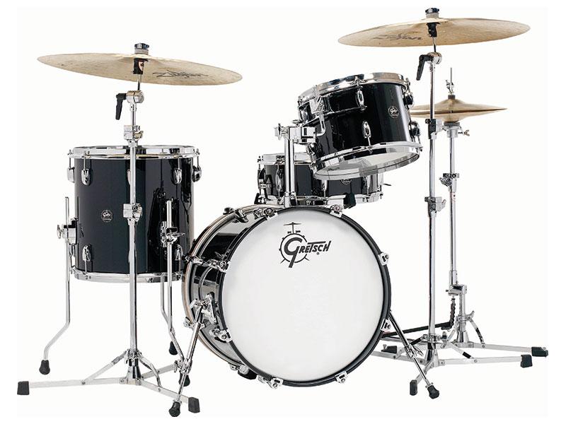 Gretsch Drums グレッチ ドラム レナウン シリーズ PB (Piano Black) ピアノブラック RN2-J483 ドラムセット シェルキット 3点セット