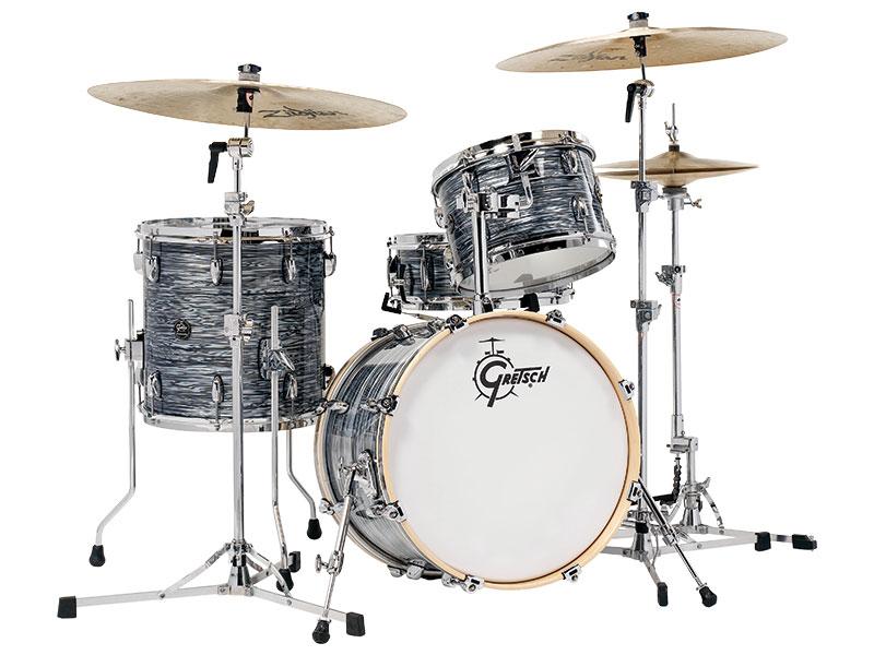 Gretsch Drums グレッチ ドラム レナウン シリーズ SOP (Silver Oyster Pearl) シルバーオイスターパール RN2-J483 ドラムセット シェルキット 3点セット