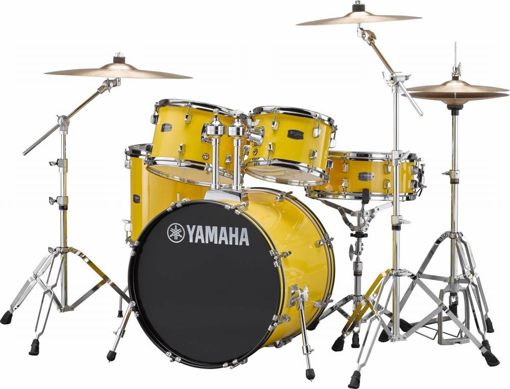 YAMAHA ヤマハ ライディーン ドラム RYDEEN ドラムセット ライディーン メローイエロー 初心者用 初心者 入門用 におすすめ! RDP2F5STD スタンダードセット ドラムセット 初心者用 スタンド シンバル付属!, ジュエリー チョコ*フィオーレ:af8c4ecc --- officewill.xsrv.jp