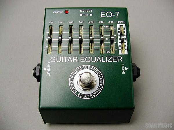 真空管大国ロシア発 GUITAR 定番から日本未入荷 EQUALIZER エフェクター イコライザー AMT.electronics 予約販売