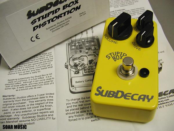 Stupid Box 2.0(SUBDECAY)ディストーション / エフェクター
