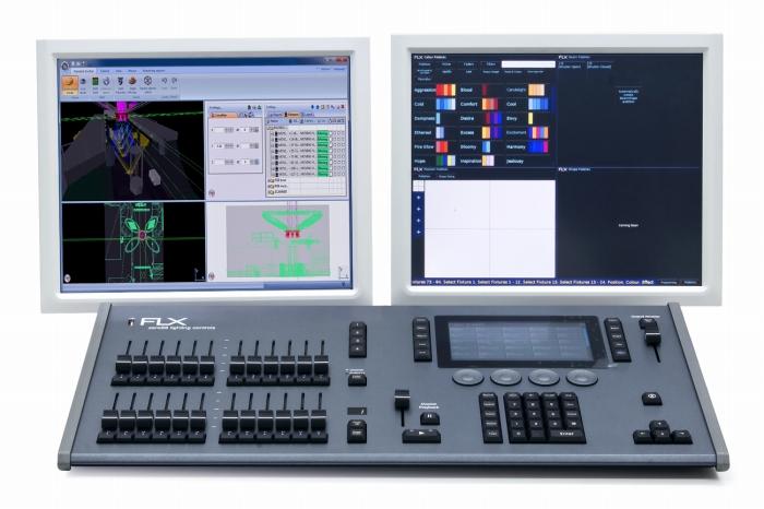 Zero 88 TVスタジオ 放送施設に最適 照明コンソール ライティングコンソール FLX 照明卓