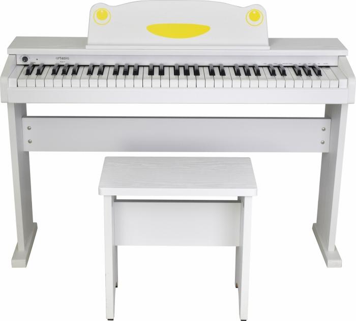artesia アルテシア キッズ用 ピアノ 61鍵盤 FUN-1 WH ホワイト オールインワン 61鍵盤 キッズ ピアノ キーボード 白色 子供用 幼児用