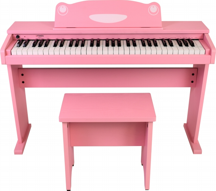 artesia アルテシア キッズ用 ピアノ 61鍵盤 FUN-1 PK ピンク オールインワン 61鍵盤 キッズ ピアノ キーボード 桃色 子供用 幼児用