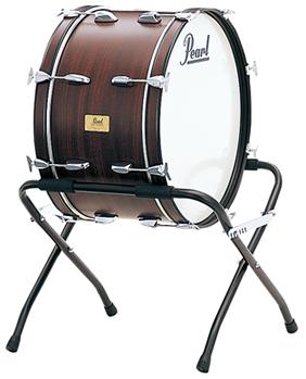 学校や運動会、ブラスバンド、オーケストラなどでの演奏に! コンサートバスドラム 26
