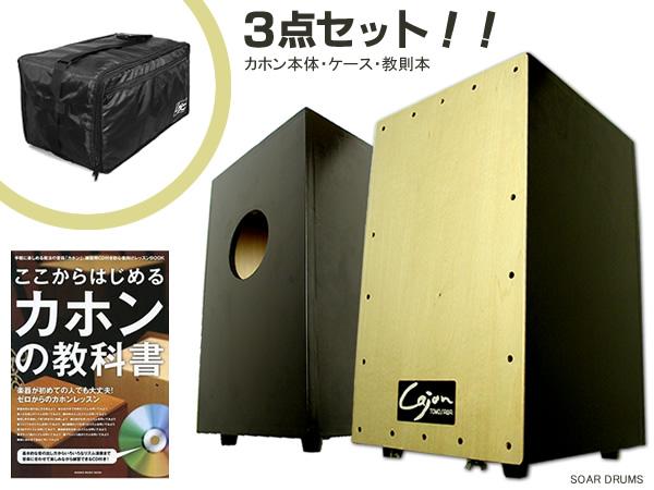 【代引きOK!・クレカOK!】専用ケースと教則本もセット!日本製でこの価格!カホン Cajon TCA-1 友澤 Tomozawa
