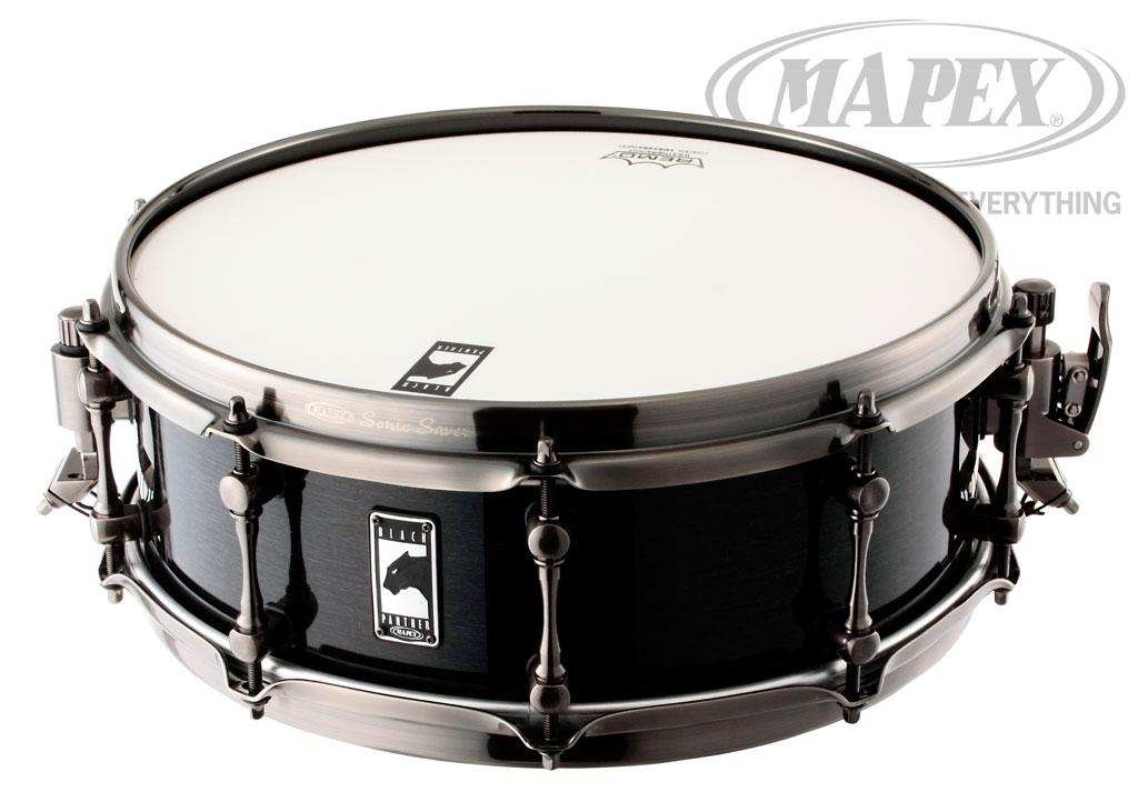 """【送料無料】スネアドラム Mapex Snare Drum """"The Black Widow"""" BPML4500 LNTB 14X5"""