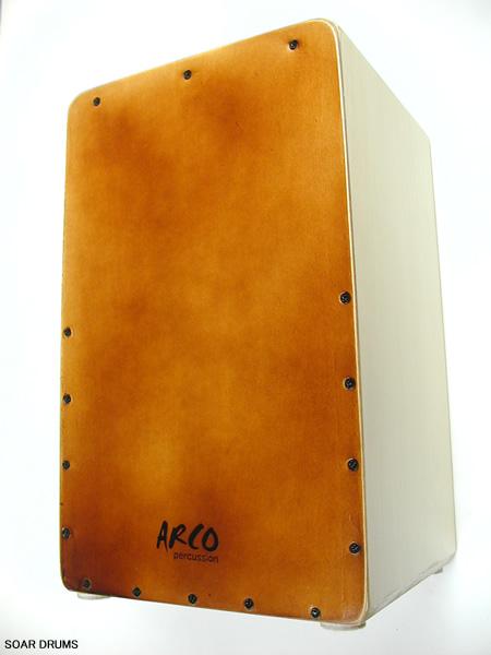 【在庫あり・即納OK!】カホン ARCO アルコ TC17N/W スマート・カホン 持ち運びに便利なコンパクトサイズ!