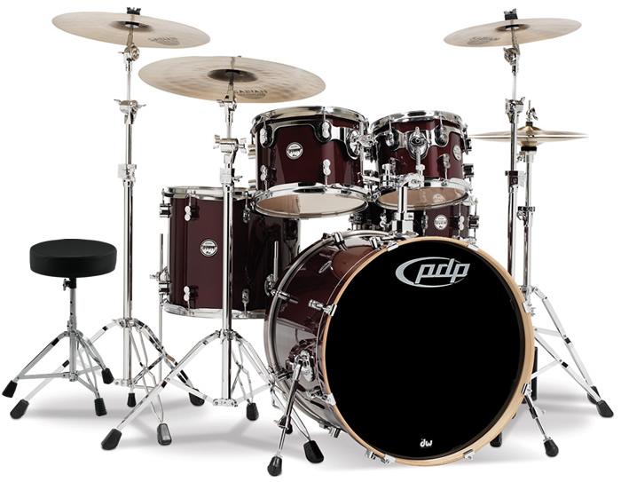 【スローンプレゼント!】 ドラムセット DW Pacific Drum PDP PA-CM5 PDCM2215 Concept Series