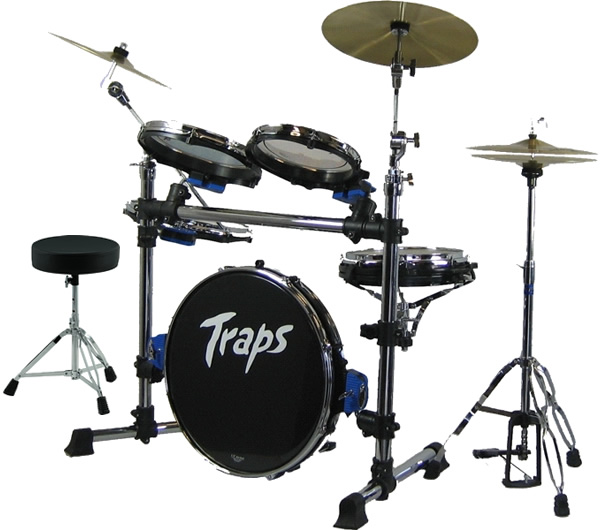 【ドラムイス付き!】ポータブルなドラムセット!TrapsDrums トラップスドラム A400NC 持ち運び便利 野外 ストリートに!