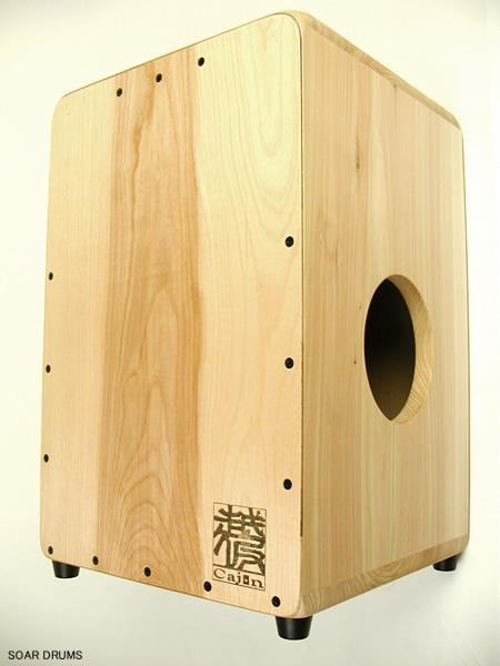 【受注製作】当店イチオシ!越仮カホン スタンダード・クリア 001-ST-C / K's factory 檜使用・日本製