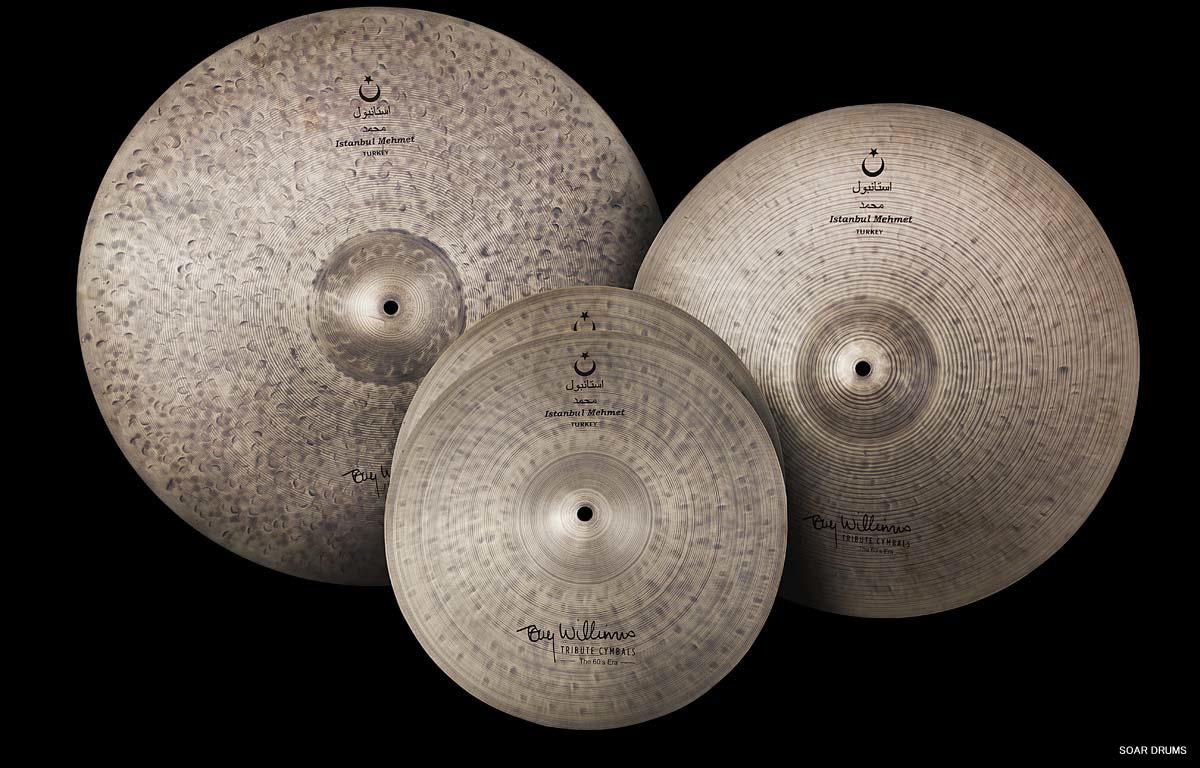 巨匠・Tony Williams / トニー ウィリアムス Tribute Cymbal Set / istanbul Mehmet イスタンブールメメット(ナイロン製シンバルバッグ付き)