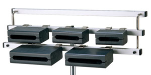 リズム&サン ポリブロック RS-PLT9605 可動式5音セット(スタンド付)Rythmes & Sons