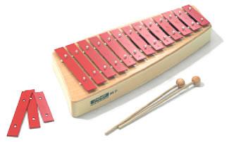 SN-NG11 ソナー・オルフ教育楽器/グロッケンシュピール 鉄琴