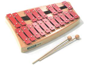 SN-NG30 ソナー・オルフ教育楽器/グロッケンシュピール 鉄琴