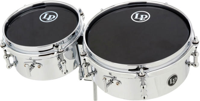 LP ミニティンバレス LP845-K / LP Mini Timbales/Chrome Plated Steel