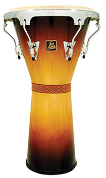 ジャンベ LPA630-** LP Aspire® Tunable Djembe, 12-1/2″ Wood  Vintage Starburst LP