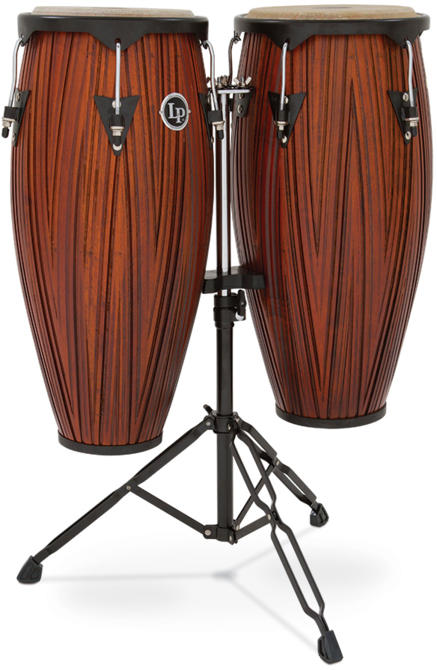 LP コンガセット City Wood Congas Carved Mango Wood / 10″と11″(28