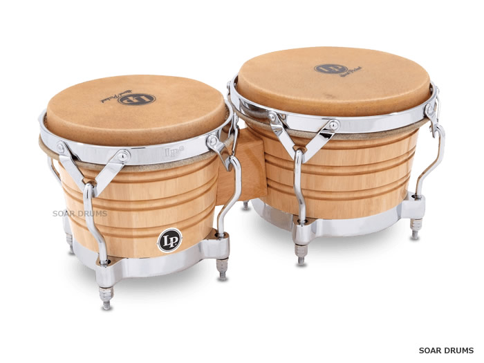 LP ボンゴ LP201A-2 / Generation II Wood Bongos Traditional Rims