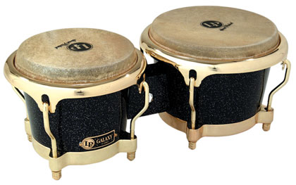 ボンゴ LP794X LP Galaxy® Fiberglass Bongos Gold Tone Hardware LP