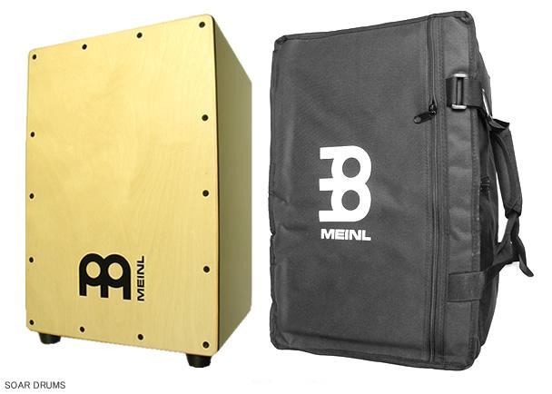 【ケース付!】CAJON / カホン : MEINL (マイネル) / MCAJ100BK-MA+ (with bag) 初心者、入門用にもお勧め!