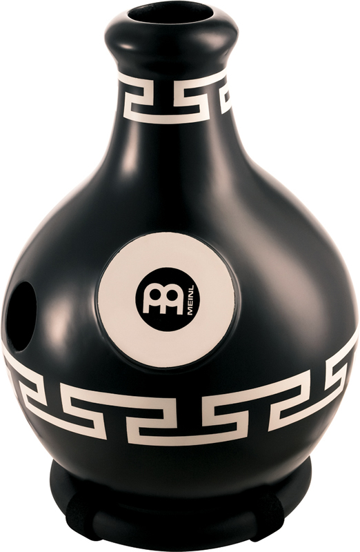 ファイバーグラス製 トライサウンドイボドラム ID4BKO Large, Black Ornament MEINL/マイネル
