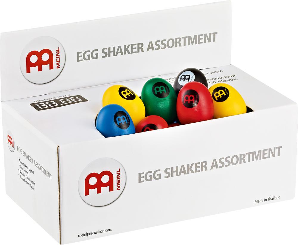 エッグシェイカーボックス、60個入り ES-BOX   EGG SHAKER BOC MEINL/マイネル