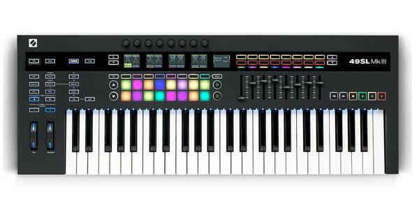 NOVATION ( ノベーション ) MIDIキーボード KEYBOAD 49SL MkIII コントローラー 49鍵 正規輸入品 MK3