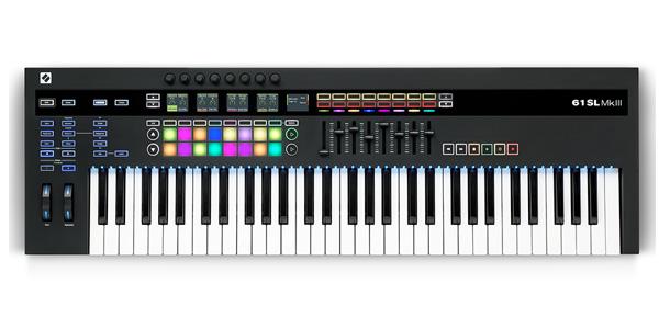 NOVATION ( ノベーション ) MIDIキーボード KEYBOAD 61SL MkIII コントローラー 61鍵 正規輸入品 MK3