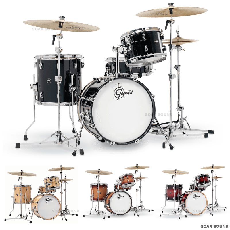 Gretsch Drums グレッチ ドラムセット 4点 シェルパック Renown Series レナウン シリーズ RN2-J484 LACQUER ラッカー フィニッシュドラム