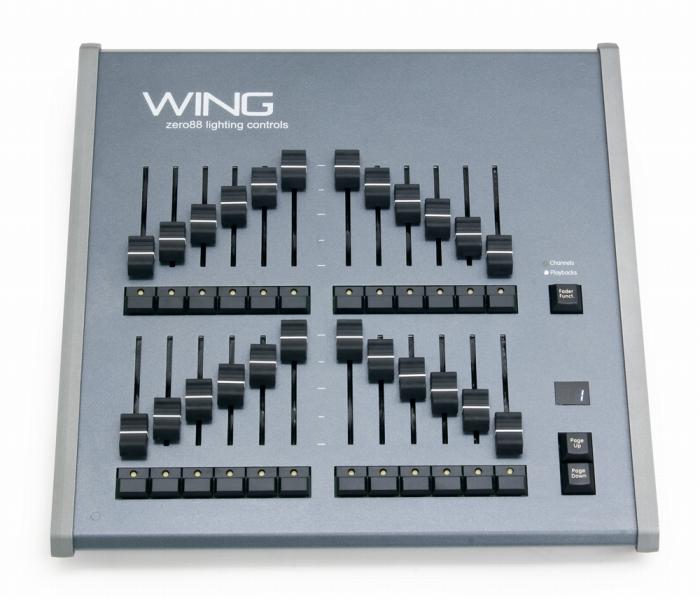 Zero 88 ZerOS 対応 調光卓拡張ツール FLX Wing 照明卓ツール