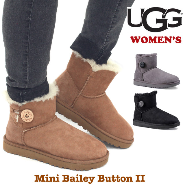 42e29c10b15 Rakuten supermarket SALE アゲインアグオーストラリア UGG Australia Lady's mini-Bailey  button 2 LADY'S BAILEY BUTTON 2 mouton boots boa ...
