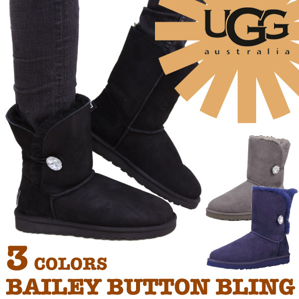 ugg australia bailey button bling boot