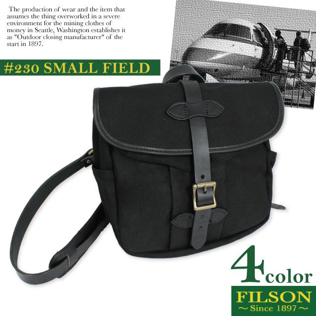 フィルソン FILSON スモールフィールド ショルダーバッグ SMALL FIELD SHOULDER BAG メッセンジャー ポーチ 斜め掛け 鞄【正規品】 【送料無料】