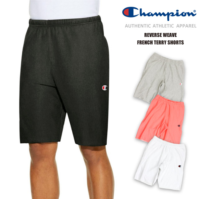 cd7facd506e2 Champion Champion sweat shirt sweat shirt half underwear short pants  reverse Wiebe pocket black and white bottom swan point C logo embroidery  cotton USA ...