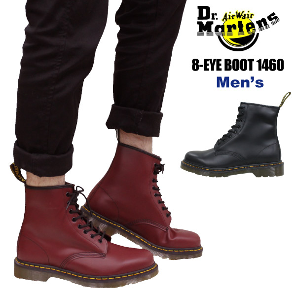 420acf7f281 Dr. Martens Dr.Martens 1460 8-EYE BOOT 8 hole lace-up leather boots mens  (for men) (11822)