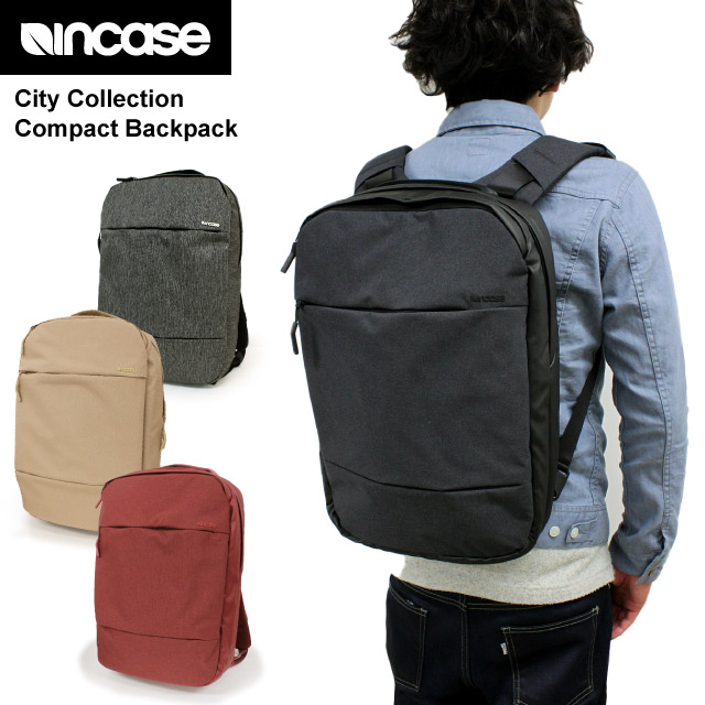 64299dde9087 In case INCASE city compact backpack City Compact Backpack MacBook Pro  15-adaptive Apple company authorized rucksack unisex