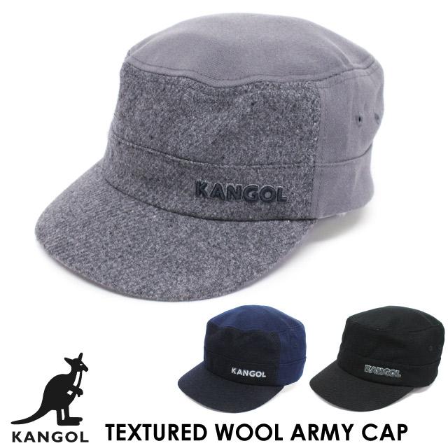 2ea8ebe617 カンゴール KANGOL テキスチャード ウール アーミー キャップ TEXTURED WOOL ARMY CAP 帽子 ハット フレックスフィット  FLEXFIT